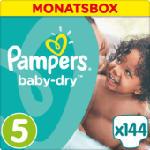 Windeln Baby-Dry Größe 5 Junior, 11-23 kg, MonatsBox