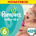 Windeln Baby-Dry Größe 6 Extra Large, 15+ kg, MonatsBox