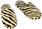 Hausschuhe Tigeroptik, Größe 36 - 37