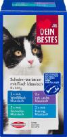 Nassfutter für Katzen, Schalen-Variation mit (MSC-zertifizierten) Fisch klassisch , 8 x 100g