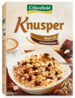 CROWNFIELD Knusper Müsli mit Schokostückchen