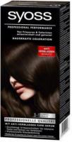 Syoss Haarcoloration 3-1 Dunkelbraun Stufe 3