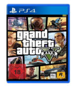 Grand Theft Auto V - GTA5 PS4 Spiel - USK 18