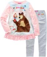 Mascha und der Bär Schlafanzug