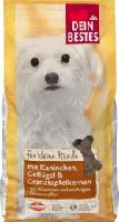 für kleine Hunde Trockenfutter für Hunde, mit Kaninchen, Geflügel und Granatapfelkernen