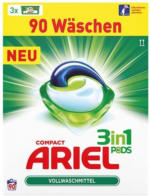 ARIEL Waschmittel 3in1 Pods Regular, 90 WL