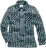 Jungen-Hemd mit Krawatte