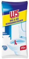 W5 Bad & WC Reinigungstücher