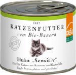 Nassfutter für Katzen, Huhn, Sensitive, getreidefrei, 12x200g