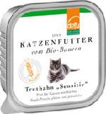 Nassfutter für Katzen, Truthahn, Sensitive, getreidefrei, 16x100