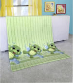 "Baby-Fleecedecke 75 x 100 cm ""Schildkröte"""