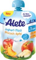 Quetschbeutel Joghurt-Müsli Pfirsich-Apfel ab 1 Jahr