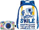 Digitalkameras - Nikon Coolpix W 100 + Rucksack Kompaktkamera Mehrfarbig, 13.2 Megapixel