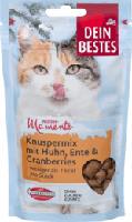 Snack für Katzen, Winter-Momente Knusper-Mix mit Cranberries, Huhn & Ente