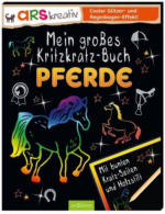 ars Edition - Mein großes Kritzkratz Buch - Pferde