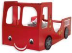 ROLLER Feuerwehrauto Kinderbett Heat - rot - 90x200 cm