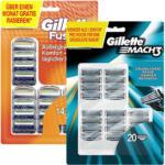 Gillette Mach3 oder Fusion Rasierklingen