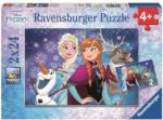 Kinder Puzzle - Die Eiskönigin - 2 x 24 Teile - Ravensburger