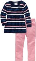 Baby-Pullover und Sweatleggings