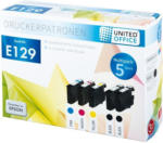 UNITED OFFICE® Tintenpatronen-Multipack E129