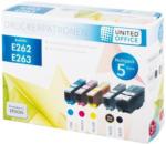 UNITED OFFICE® Tintenpatronen-Multipack E262 / E263