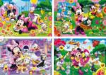 Rahmenpuzzle 15 Teile Minnie Mouse Clementoni