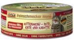 Katzen - MAC's Feinschmecker Kitten - Pute mit Ente und Karotte