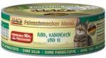 Katzen - MAC's Feinschmecker - Rind mit Kaninchen und Ei