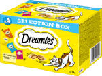 Snackbox für Katzen mit Huhn, Käse, Lachs, Rind, Multipack 4x30g
