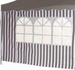 Siena Garden Seitenteile zu Faltpavillon grau/weiß 2er Set 400337