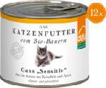 Nassfutter für Katzen, Gans, Sensitive, getreidefrei 12x200g