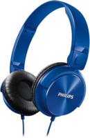 SHL 3060 BL On-Ear-Kopfhörer mit Kabel blau