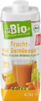 dmBio Frucht- und Gemüsesaft Kürbis-Traube-Ananas-Karotte
