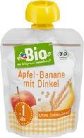 Apfel-Banane mit Dinkel im Quetschbeutel ab 1 Jahr