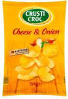 CRUSTI CROC Chips Cheese & Onion