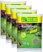 Rasendünger mit Eisen (4 x 7,5kg) - versandkostenfrei!