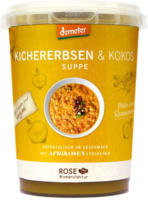 "Frische Suppe ""Kichererbsen-Kokos-Suppe"""