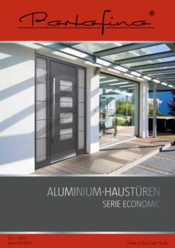 Portofino Aluminium-Haustüren Economic-Line