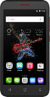 Smartphones - Alcatel ONETOUCH GO Play 7048X 8 GB Schwarz/Rot
