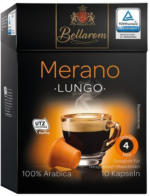 BELLAROM Kaffeekapseln Merano Lungo 10er