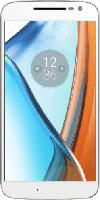 Smartphones - Lenovo Moto G4 16 GB Weiß