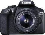 Spiegelreflexkameras - Canon EOS 1300 D + 18-55MM DFIN Spiegelreflexkamera 18 Megapixel f/3.5-5.6, 7.5 cm , WLAN