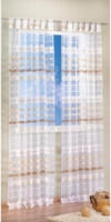 """Vorhang """"Atlanta"""" mit Schlaufen, ca. 140 x 235 cm, champagner"""