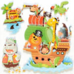 3D-Sticker Pirat