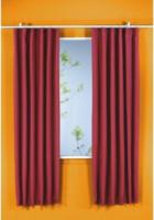 Vorhang Linus, Verdunkelungsqualität, ca. 140 x 175 cm, schwarz