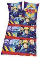 """Microfaser-Bettwäsche """"Feuerwehrmann Sam"""""""