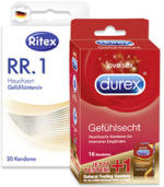 durex, Billy Boy oder Ritex Kondome
