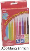 Playgo Toys - Playgo Nachfüllfarbstifte für die Airbrush-Tattoo-Station, 10 Stück, inkl. 6 Schablonen
