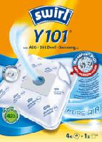 Staubsaugerbeutel Y101 MicroPor Plus inkl. 1 Filter