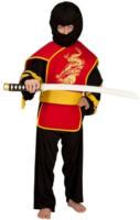 Besttoy - Kinder Kostüm Ninjakämpfer Gr. S = 4-7 Jahre